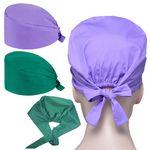 Adjustable Scrub Hats Surgical Cap Medical for Doctor Nurse