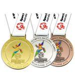 Custom Shape Die Struck Soft Enamel Medals 1 1/2
