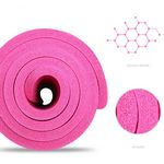 Custom Thick Yoga Mat Fitness & Exercise Mat with Easy-Cinch Yoga Mat Carrier Strap, 72