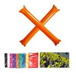 Inflatable Noisemaker Cheering Thunder Sticks With Straw