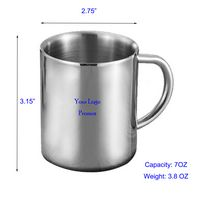 Stainless Steel Vacuum Cup Travel Mug
