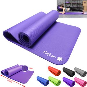 Thicken Anti-Slip Eco EVA Fitness Yoga Mat Cushion With Carrying Strap