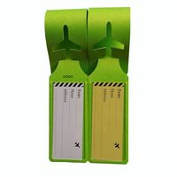 PU Foldable Luggage Tag