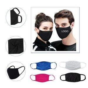 Solid Color Dust - Proof Cotton Face Mask