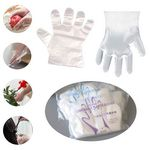 PE Gloves Disposable Clear Plastic