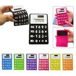 Custom Solar Foldable Calculator