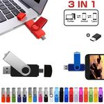 Custom 3 in 1 Colorful USB Flash Drive