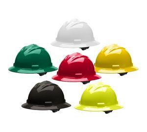 Bullard Full-Brim Hard Hat w 4-Point Ratchet Suspension - B-71R - IdeaStage  Promotional Products 8a2bcf5f4