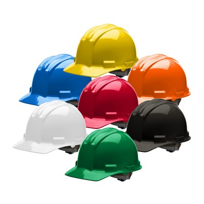 Bullard Cap-Style Hard Hat w/4-Point Ratchet Suspension
