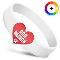 Die Cut Silicone Wristband