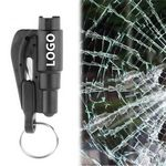 2 in 1 Safety Car Escape Tool Keychain