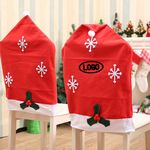 Christmas Chair Cover Snow
