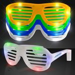 Light up slotted sunglasses