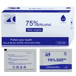75% Alcohol Wet Wipes Individual Pack