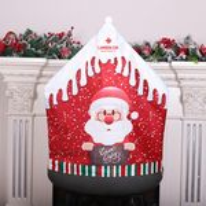 Santa Clause Chair Covers