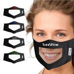 Custom Visible Mouth Face Mask