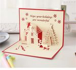 Custom 3D Christmas card