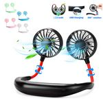Portable 360 Degree Free Rotation Cooling Neck Fan