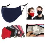 3-Ply Reusable Mask With Adjustable Ear Loop