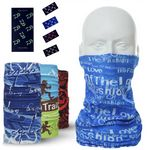 Seamless Bandana Neck Gaiter Face Mask