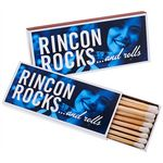 Custom Full Color Matchboxes With 17 3-Inch Matchsticks