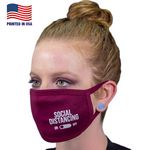 Custom 100% Cotton 3-Layer Fabric Face Mask