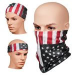 Full Color Multi-Functional Face Covering Neck Gaiter