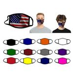 2 Ply Sublimated Polyester Face Mask