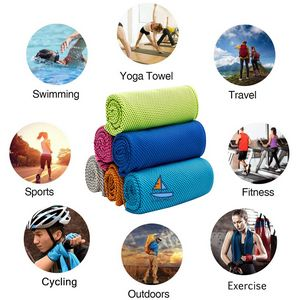 Sports Quick-drying Ice Silk Towel