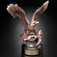 "Perched Eagle 7-1/2"""
