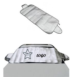 Car Sun Shade And Snow Windshield Protector
