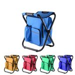 Custom Folding Chair with Cooler Bag