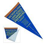 Vertical Triangle Shaped Felt Banner