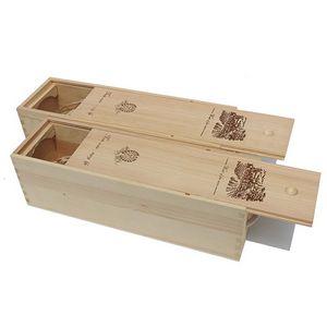 Custom Wood Wine Gift Box
