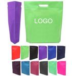 Non Woven Cut-Out Handle Tote Bags with Custom Logo