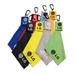 Micro-Fiber Cleaning Cloth Key Chain for Cell Phone/Grasses/Computer