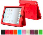 PU leather ipad case