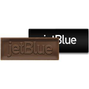 Custom Chocolate Bar In Soft Touch Modern Gift Box (3.5 x 5.25)