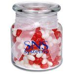 Custom 22 Oz. Glass Jar w/ Gourmet Jelly Beans