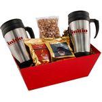 Custom Tray w/Mugs and Honey Roasted Peanuts