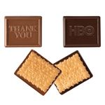 Custom Rectangle Custom Molded Chocolate Cookie