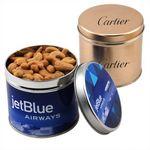 Custom Round Tin w/Cashews
