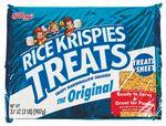 Custom Giant Rice Krispies Treat