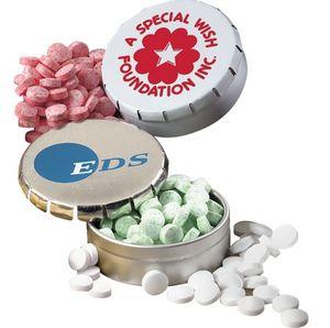 Pop Top Mint Tin w/Mints