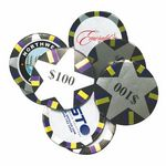 Custom Decorated Custom Chocolate Poker Chips