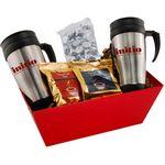 Custom Tray w/ Mugs and Hershey Kisses