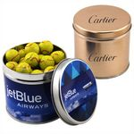 Custom Round Tin w/Chocolate Tennis Balls