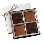Custom 4 Piece Chocolate Gift Box