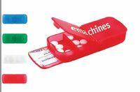 Plastic Bandage Dispenser w/Pill Case
