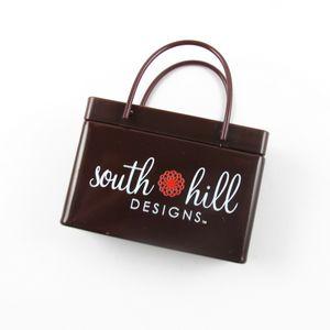 Brown Shopping Bag Mint Tin